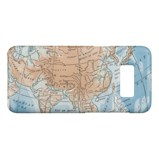 Physical Map of Asia (1916) Case-Mate Samsung Galaxy S8 Case