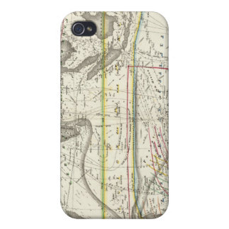 Physical Map of Indian seas iPhone 4 Cover
