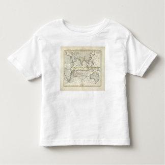 Physical Map of Indian seas Toddler T-shirt