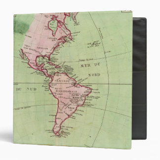 Physical map of the Americas Binder