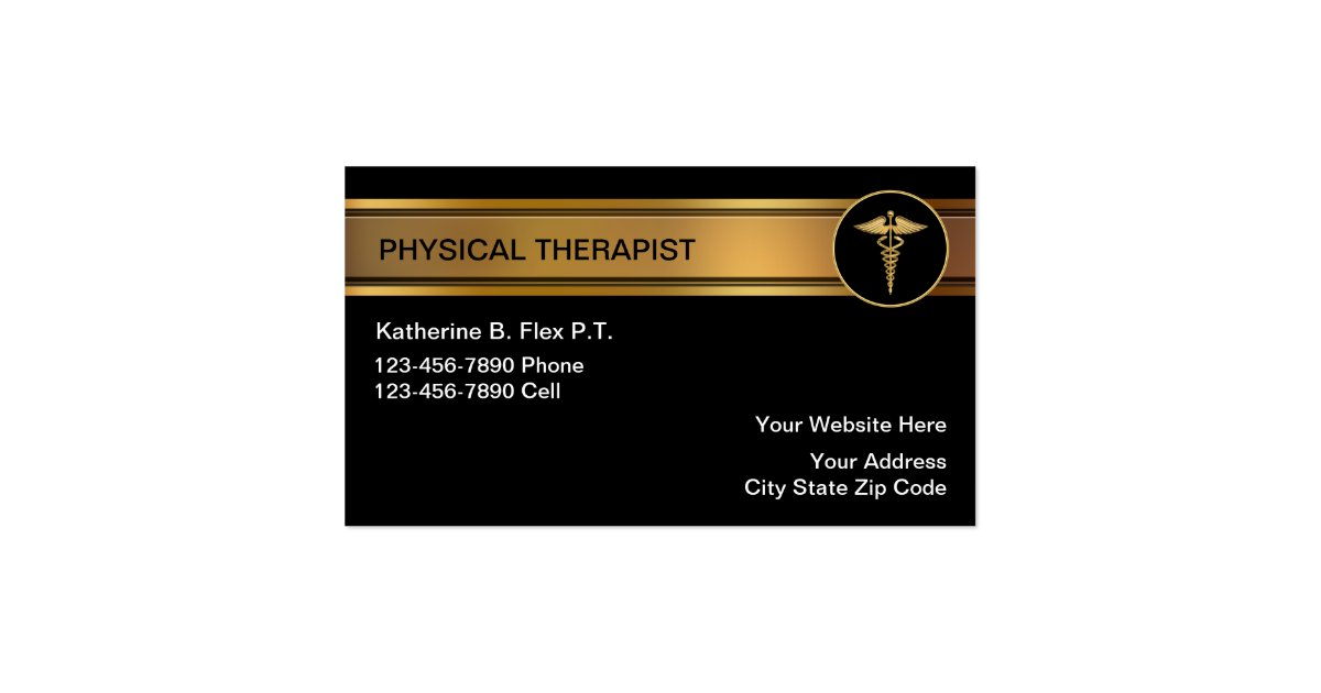 physical therapy business cards - My Blog About May2018 Calendar ...