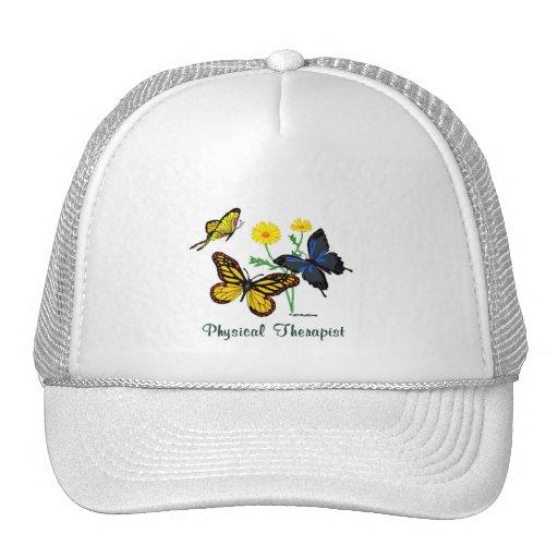 Physical Therapist Butterflies Trucker Hat