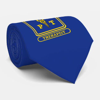 Physical Therapist Caduceus Neck Tie