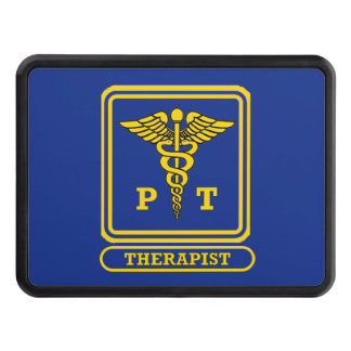 Physical Therapist Caduceus Shield Hitch Cover