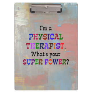 Physical Therapist Clipboard