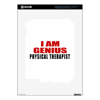 PHYSICAL THERAPIST DESIGNS DECAL FOR iPad 3