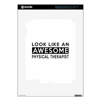 PHYSICAL THERAPIST DESIGNS iPad 3 DECAL