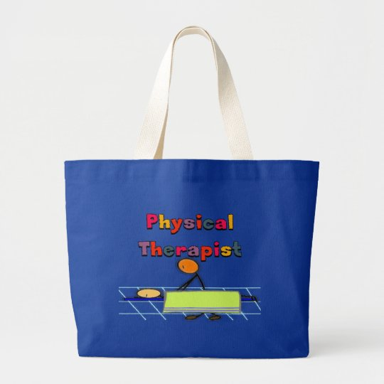 Physical Therapist Gifts Large Tote Bag