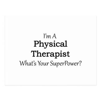 Physical Therapist Postcard