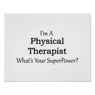 Physical Therapist Poster