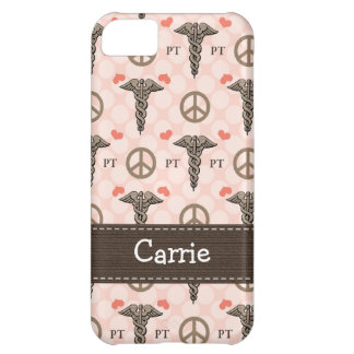 Physical Therapist PT Caduceus iPhone 5C Cases