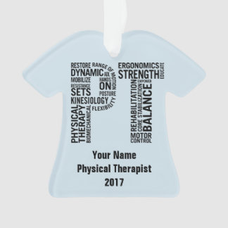 Physical Therapist PT Ornament