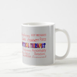 Physical Therapist Terminology Gifts Classic White Coffee Mug