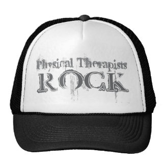 Physical Therapists Rock Mesh Hats