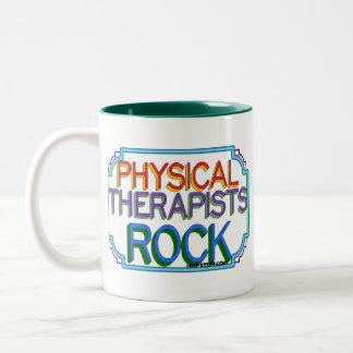 Physical Therapists Rock Mug