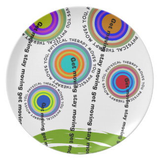 Physical Therapy Artsy Gifts Plate