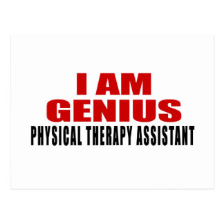 PHYSICAL THERAPY ASSISTANT DESIGNS POSTCARD