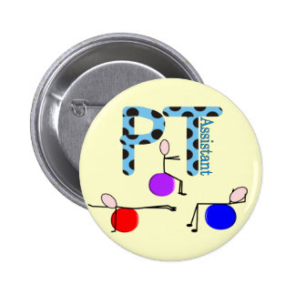 Physical Therapy Assistant Gifts Buttons