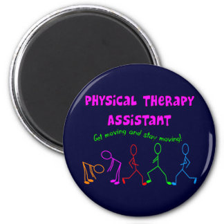 Physical Therapy Assistant Gifts Fridge Magnets