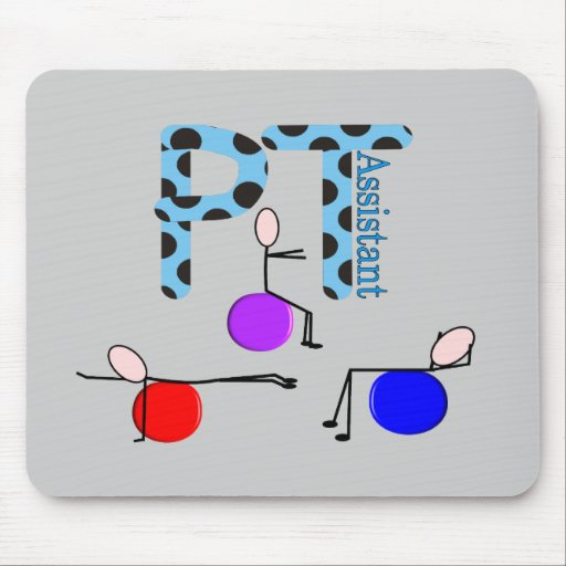 Physical Therapy Assistant Gifts Mouse Pad