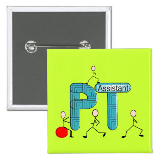 Physical Therapy Assistant Gifts Pinback Button