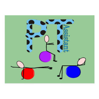 Physical Therapy Assistant Gifts Postcard