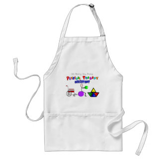 Physical Therapy Assistant Gifts Unique Graphics Adult Apron