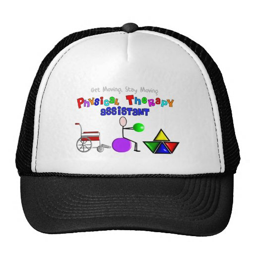 Physical Therapy Assistant Gifts Unique Graphics Trucker Hat