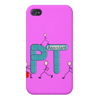 Physical Therapy Assistant Gifts Unique Graphics iPhone 4/4S Cover