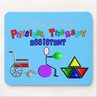 Physical Therapy Assistant Gifts Unique Graphics Mouse Pad
