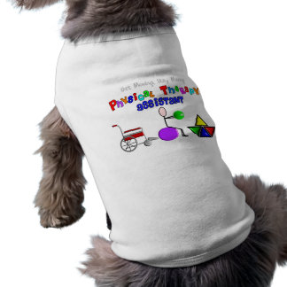 Physical Therapy Assistant Gifts Unique Graphics Pet Tshirt