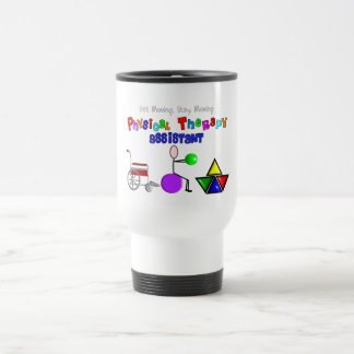 Physical Therapy Assistant Gifts Unique Graphics Travel Mug