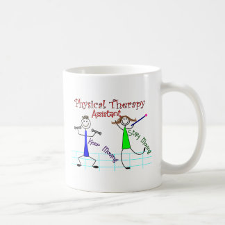 Physical Therapy Assistant Stick People Design Coffee Mug