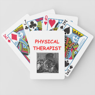 physical therapy bicycle playing cards