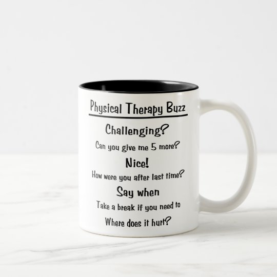 Physical Therapy Buzz Mug
