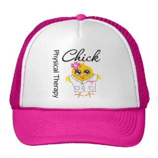 Physical Therapy Chick Trucker Hat