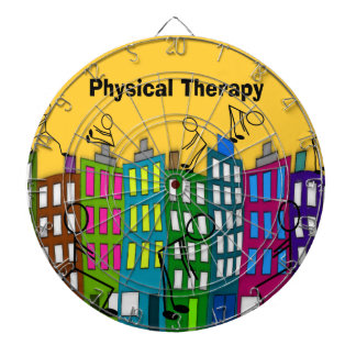 Physical Therapy Gifts Dartboard With Darts