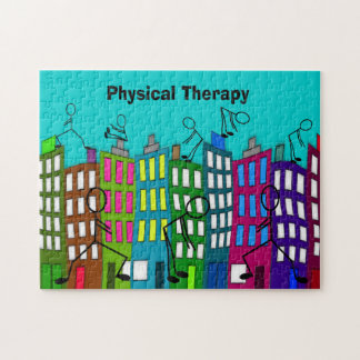 Physical Therapy Gifts Jigsaw Puzzle