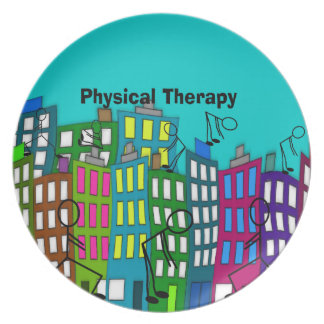 Physical Therapy Gifts Melamine Plate