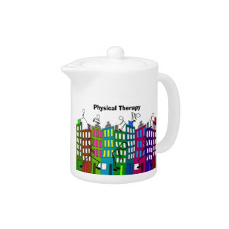 Physical Therapy Gifts Teapot
