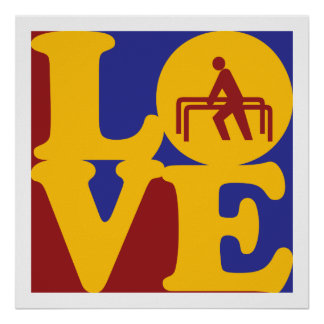 Physical Therapy Love Posters