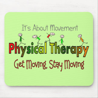 Physical Therapy Products and Gifts Mouse Pad