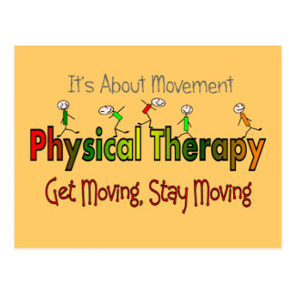 Physical Therapy Products and Gifts Postcard