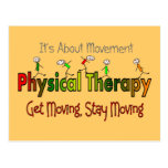 Physical Therapy Products and Gifts Postcards