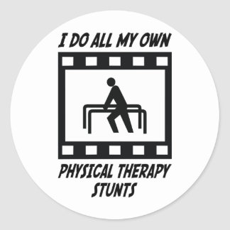 Physical Therapy Stunts Stickers