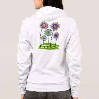 Physical Therapy Zip Hoodie II Whimsical
