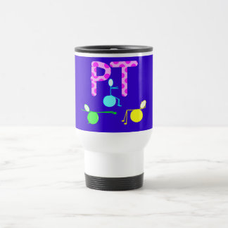 Physical Therpist Gifts With Unique Graphics 15 Oz Stainless Steel Travel Mug