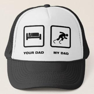 Physically Challenged Runner Trucker Hat