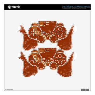 Physically challenged skin for PS3 controller
