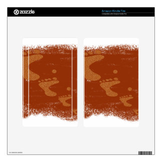 Physically challenged skins for kindle fire
